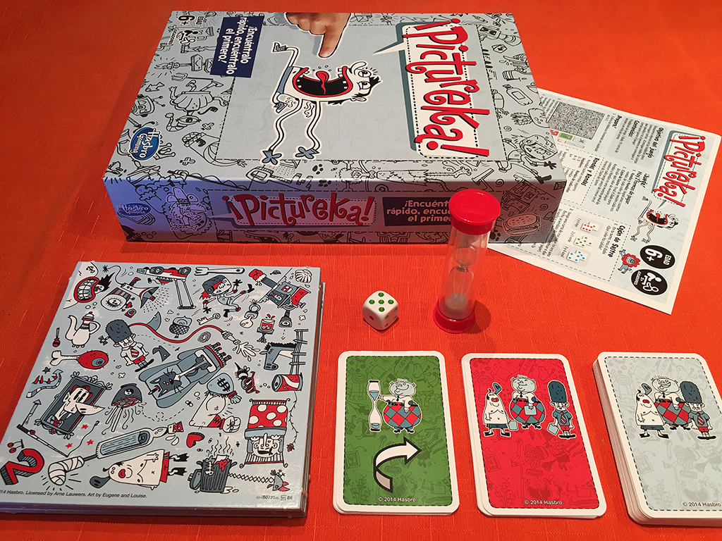 Pictureka unboxing c mo jugar y partida s gueme el juego for Cazafantasmas juego de mesa