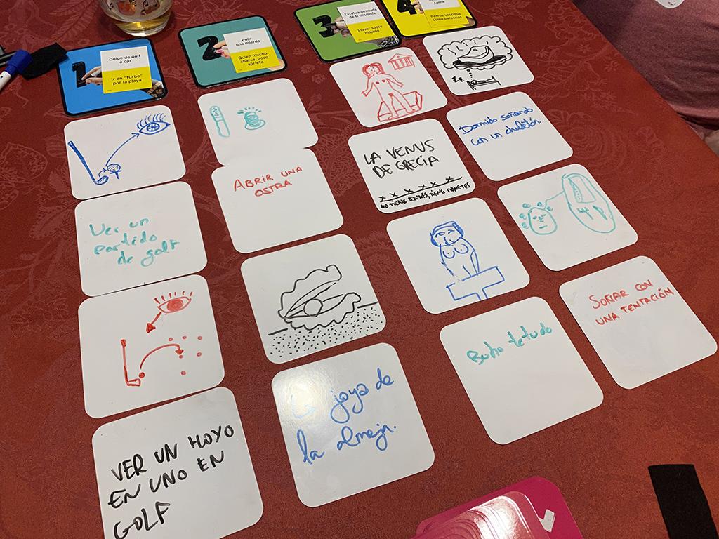 juego mesa scrawl partida